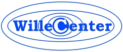 WilleCenter_Logodekal_350x146mm_Reflexblå